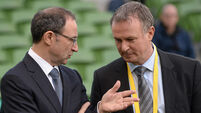 Martin O'Neill takes issue with claim Ireland are targeting Catholic players from the North