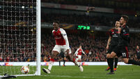 Danny Welbeck nets brace as Arsenal see off AC Milan to book quarter-final spot