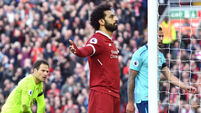 Unstoppable Salah makes it 40 for the season as Reds sweep aside Bournemouth