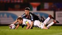 Cork City's title hopes all but ended by first-half collapse