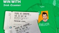 WIN: We've two premium tickets and t-shirts for the Liam Miller tribute match to give away