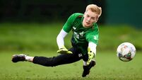 Liverpool goalkeeper invited to train with Ireland