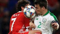 Ireland captain Seamus Coleman ruled out of friendly