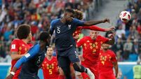 Key moments as France beat Belgium to reach World Cup final