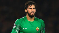 Latest: Alisson en route to Liverpool to sign world-record deal