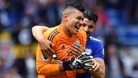 Neil Etherodge penalty save earns Cardiff draw with Newcastle