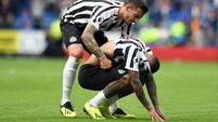 Kenedy's penalty miss was 'poetic justice' - Warnock