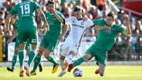 Cork City suffer defeat in first leg of Champions League qualifier