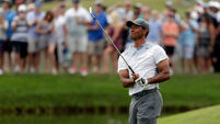 Tiger Woods produces dazzling round to charge up Players Championship leaderboard