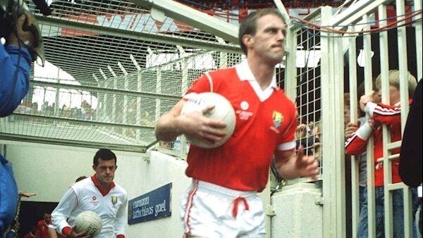 Tompkins in 1990. Picture: Sportsfile