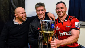 Ronan O'Gara wins Super Rugby title in first season with Crusaders