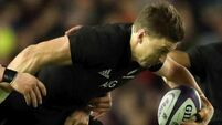 Beauden Barrett scores record four tries as New Zealand thump Australia