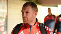 Keith Earls joins Munster's injury list after damaging knee