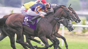 Last-gasp success for Lucius Tiberius