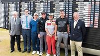 Thornton takes top prize in Irish Open qualifier