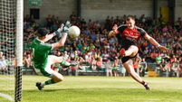 Cillian O'Connor scores 3-9 as Mayo dismiss Limerick in eight-goal clash