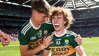Kerry get four awards as eight counties feature on Minor Team of the Year