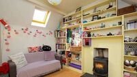 Small terraced home is quirky, colourful, and cool