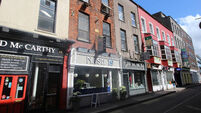 Busy buildings in Cork's historic hub