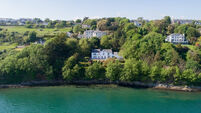 Hard to beat this perfect Retreat with a near-private beach in Cobh