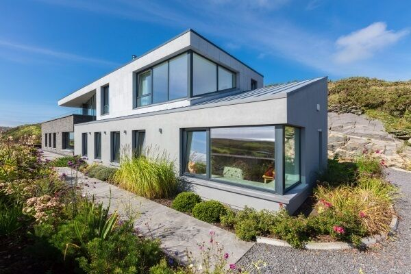 Finalist: The contemporary, split-level home of Margaret and Mark Conway in south-west Cork.