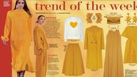 Trend of the Week: Mellow yellow