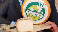 Irish winners say cheese at UK awards