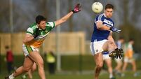 Visitors impress on opening day of O'Byrne Cup