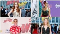 On the red carpet: Janelle Monae, Michelle Pfeiffer, Karen Gillan and Judy Greer