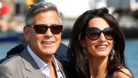 WATCH: George Clooney brought to tears as Amal's delivers heartfelt tribute