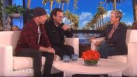 WATCH: Bono chats to Ellen about how U2 saved his life