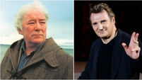 Liam Neeson says Seamus Heaney's work inspired him to become an actor