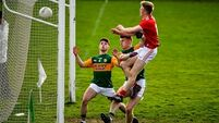 Walsh injury a dampener as Gore's hat-trick helps Cork to 22-point win