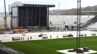 Watch: The stage is almost set for Ed Sheeran's European tour opening gig in Cork this weekend