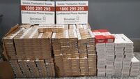 Nearly 50,000 cigarettes seized at Cork Airport in last two days