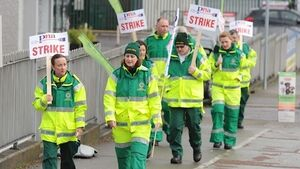 Ambulance strike continues for third day of industrial action
