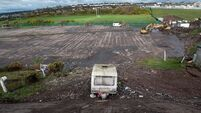 Traveller group hits out at those responsible for dumping caravan on cleaned up site