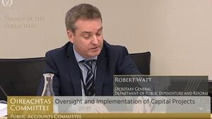 Senior civil servant questioned at Oireachtas committee over hospital costs