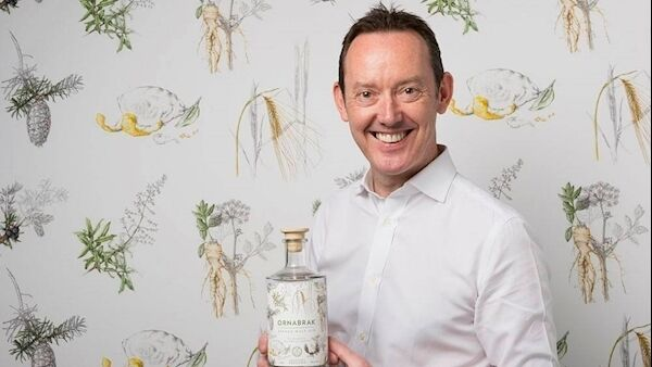 Patrick Shelley, the Irish entrepreneur behind Ornabrak, the latest gin offering.