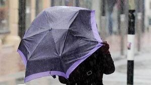Status yellow rainfall warning issued for Munster and Leinster