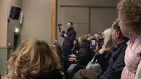 Anti-immigration activists disrupt information meeting in Waterford town