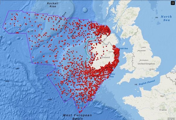 The recently unveiled Irish National Monuments Service Wreck Viewer lists the locations of more than 4,000 wrecks.
