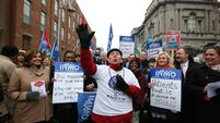 FG TD questions why nurses are going on strike after INMO agreed deal 'only a number of months ago'