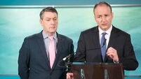 Micheal Martin 'not blocking European runs'