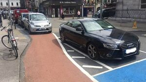 Call to punish parking in cycle lanes