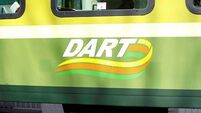 DART line reopens after incident at Harmonstown