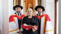 Dolores O'Riordan's honorary doctorate presented to her mother in UL