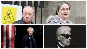 Tuesday's Evening Round-up: Irish Euromillions winner, Bernie Sanders and Karl Lagerfield's death