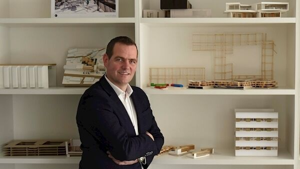 Peter Crowley, architect and director of PAC Studio, Architecture & Environments, Dublin, and one of the judges on 'Home of the Year'. Photograph Moya Nolan