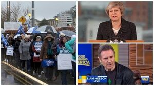Tuesday's Evening Round-up: Nurses' strike, May goes north, Neeson denies being a racist